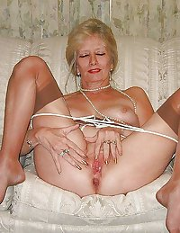Granny Grandma Old Ladies in Heels Lingerie 11