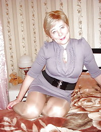 Grannies and Matures in Pantyhose vol 5